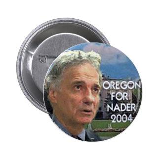 Nader 2004 - Botón Pin Redondo De 2 Pulgadas