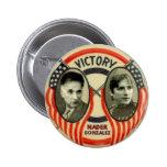 Nader and Gonzalez Pinback Button