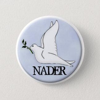 Nader Peace Dove Button