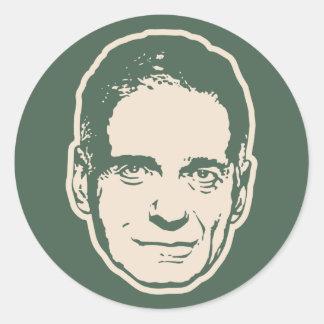 Nader, Ralph Classic Round Sticker