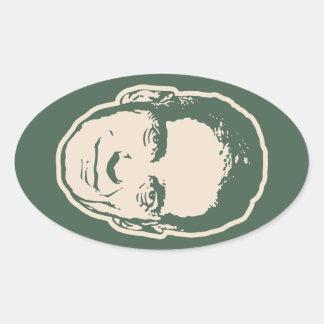 Nader, Ralph Oval Sticker