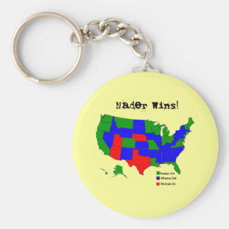 Nader Wins! Key Chains
