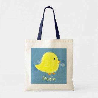 Nadia Baby Chick Tote Bag / Diaper Bag