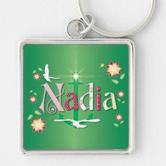 Nadia Llavero Cuadrado Plateado