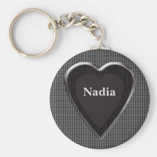 Nadia Stole My Heart Keychain