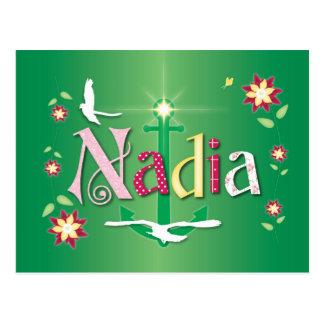 Nadia Tarjeta Postal