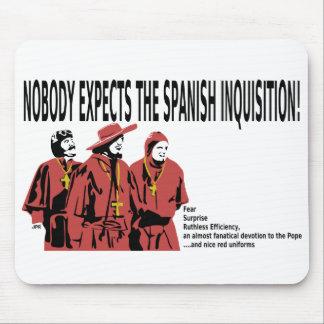 Nadie cuenta con la inquisición española Mousepad Tapete De Raton
