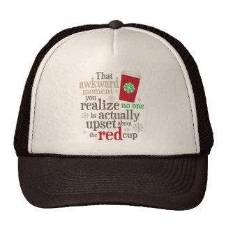 Nadie cuida sobre #ItsJustACup rojo de la taza de Gorra