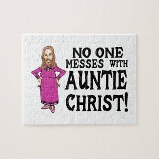 Nadie ensucia con tía Cristo Puzzles