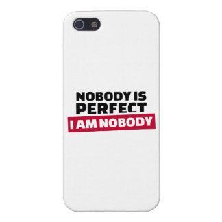 Nadie es perfecto yo no es nadie iPhone 5 coberturas