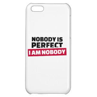 Nadie es perfecto yo no es nadie
