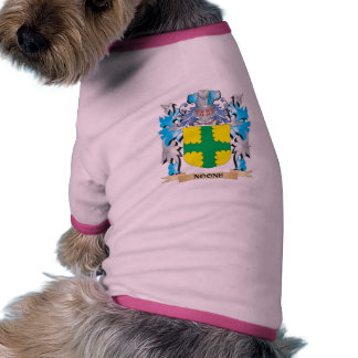 Nadie escudo de armas - escudo de la familia camiseta de mascota