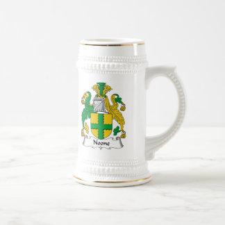 Nadie escudo de la familia jarra de cerveza