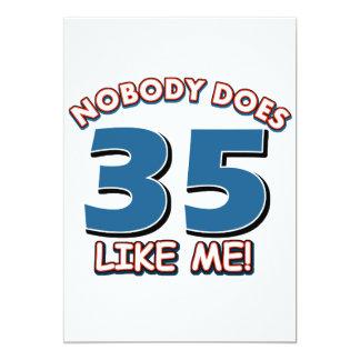 ¡Nadie hace 35 como mí! Comunicado