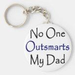 Nadie Outsmarts a mi papá Llavero