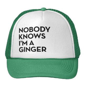 """Nadie sabe I """" m un gorra del camionero del"""