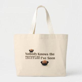 Nadie sabe las trufas que he visto bolsa