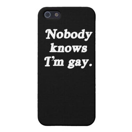 Nadie sabe que soy gay - (la línea de la recogida) iPhone 5 cobertura