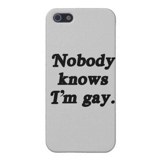 Nadie sabe que soy gay - .png iPhone 5 coberturas