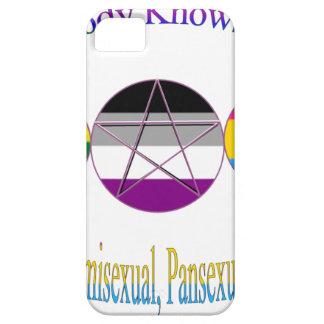 Nadie sabe que soy Pagan Pansexual gay de iPhone 5 Carcasa