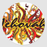 Nadie tiene gusto de Jehová Pegatinas Redondas