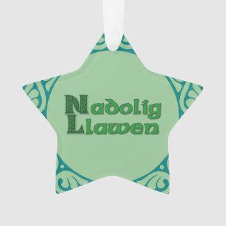 Nadolig Llawen - decoración del navidad Galés