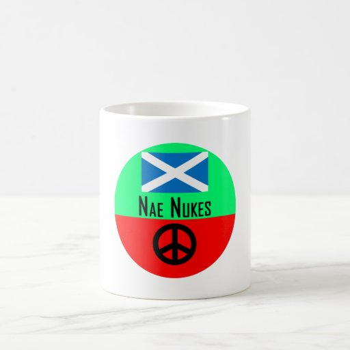 Nae Nukes Scottish Independence Indy Mug
