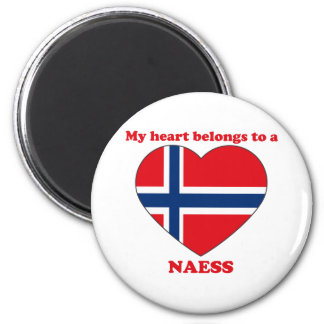Naess 2 Inch Round Magnet