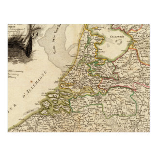 Naetherlands Boarders Postcard
