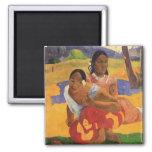 'Nafea Faa Ipoipo' - Paul Gauguin Fridge Magnet