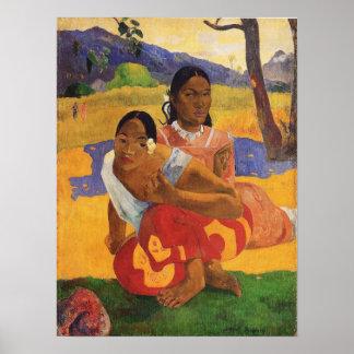 'Nafea Faa Ipoipo' - Paul Gauguin Print