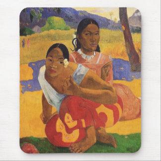 """Nafea Faa Ipoipo"" - Paul Gauguin Tapete De Raton"