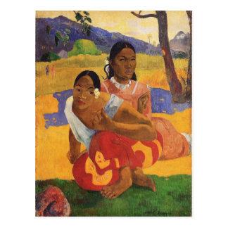 """Nafea Faa Ipoipo"" - Paul Gauguin Tarjetas Postales"