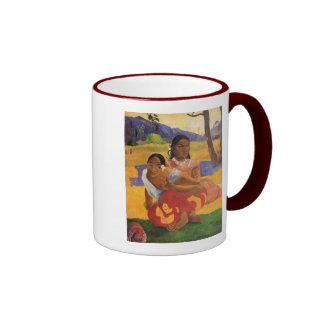 """""""Nafea Faa Ipoipo"""" - Paul Gauguin Tazas"""
