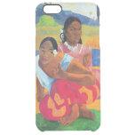 Nafea Faaipoipo, 1892 Funda Clear Para iPhone 6 Plus