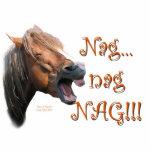 Nag 1 Funny Horse Acrylic Cut Outs