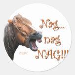 Nag 1 round stickers