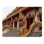 Naga en 9 el piso Stupa, Khon Kaen Postales