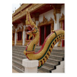 Naga en 9 el piso Stupa, Khon Kaen Tarjetas Postales