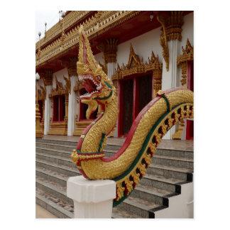 Naga en 9 el piso Stupa, Khon Kaen Postal