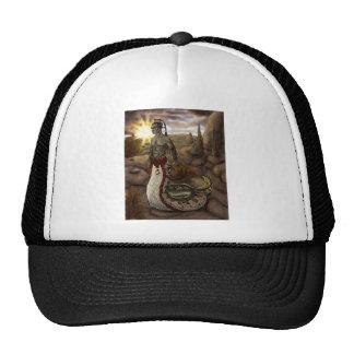Naga en gorra del desierto