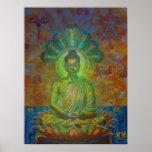Nagabuddha digitally - 2014 print