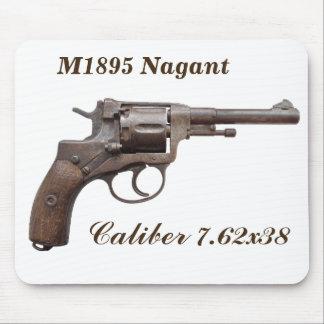 Nagant Revolver m1895 soviet russian ww2 mouse pad