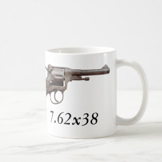 Nagant Revolver m1895 soviet russian ww2 mug!
