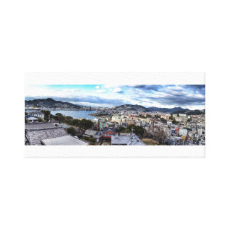 Nagasaki City (Canvas) Canvas Print