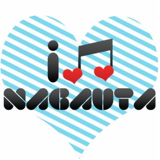 Nagauta fan acrylic cut outs