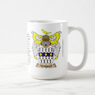 Nagel, el origen, el significado y el escudo taza