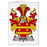 Nagel Family Crest Greeting Cards