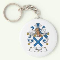 Nagel Family Crest Keychain