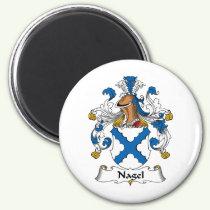 Nagel Family Crest Magnet